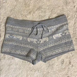 Aerie Polar Bear Pajama Shorts